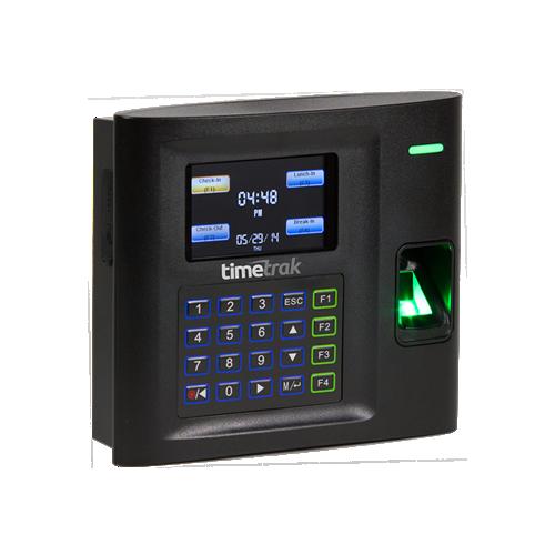 Model 100 Fingerprint Timetrak Systems